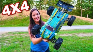 Force RC MuckRaker 1/8 Scale Truggy BASHING FUN - TheRcSaylors