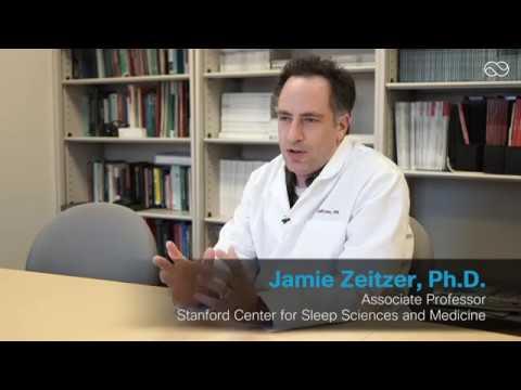 Stanford University professor explaining the technology behind the Lumos  Smart Sleep Mask