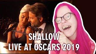 Lady gaga, bradley cooper - shallow (live at oscars 2019) reaction   sisley reacts