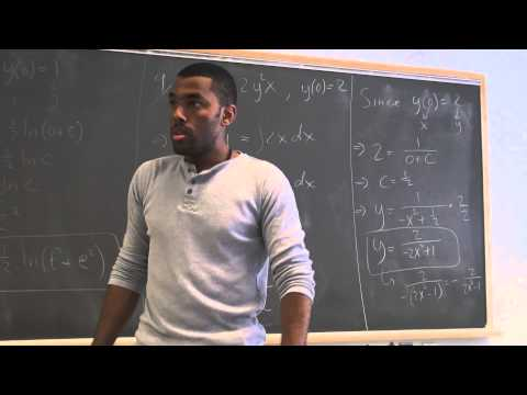 Math 209 Lecture 3 - Numerical methods for solving ODEs part 1