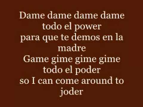 Gimme the Power  Molotov con letra)