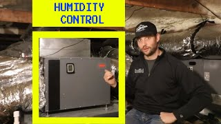 Is Your House HUMID? This Will Help!!  - Whole Home Dehumidifier