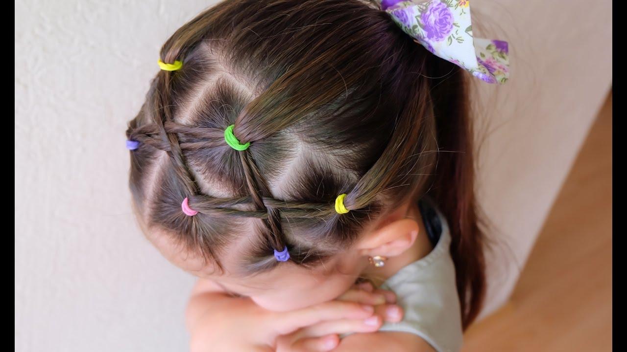 Peinado fácil para niña / Easy hairstyle for girl - YouTube