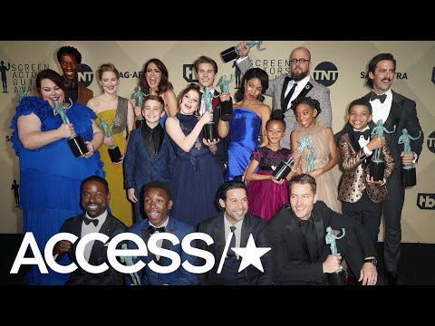 The Entire This Is Us Cast Adorably Lost It Over Their Big 2018 SAG Awards Win  Access
