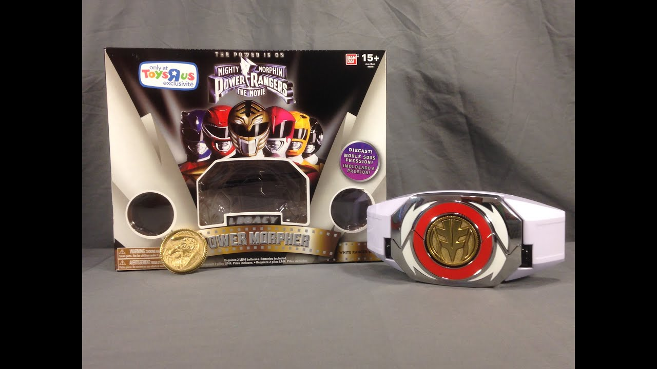 Mighty Morphin Power Rangers The Movie Legacy Morpher