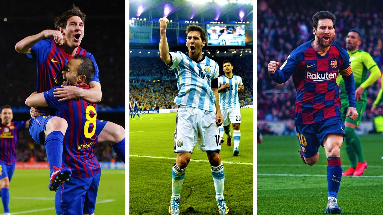 Lionel Messi | Best Goals in Each Year of His Career ...