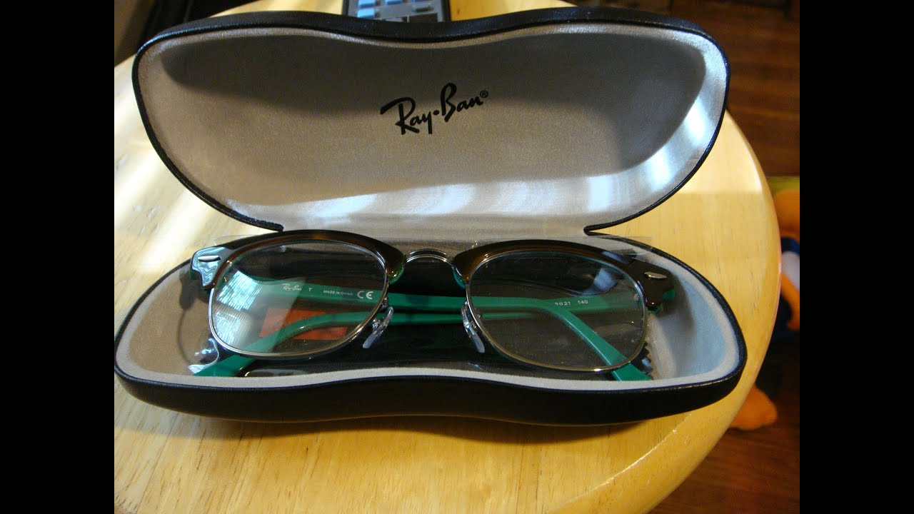 Ray Ban Glasses Unboxing Ray-Ban RX 5154 Clubmaster - YouTube 5da82a60dcda
