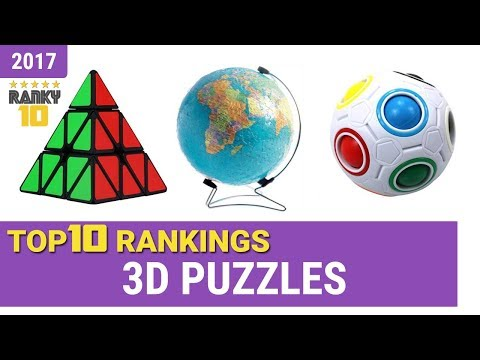 Best 3D Puzzle Top 10 Rankings, Review 2017 & Buying Guide