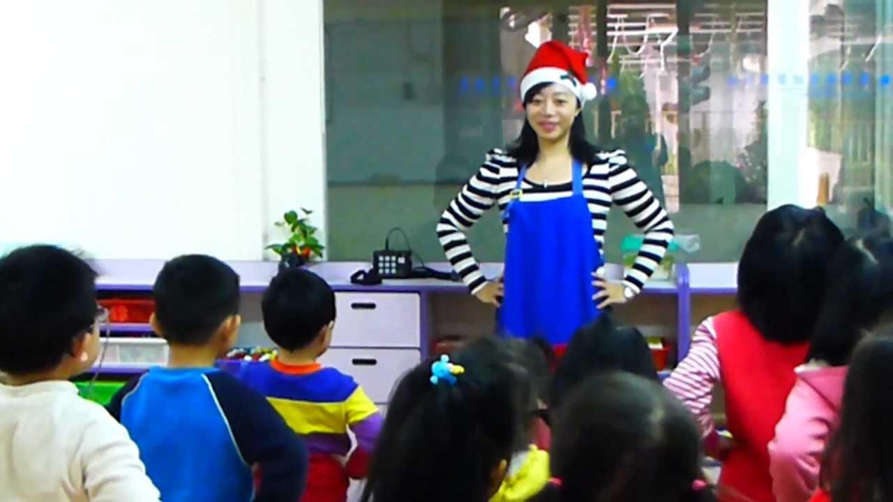 英文聖誕歌曲教學 - YouTube