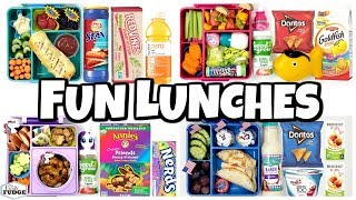 Letting YOU DECIDE our lunch 🍎 Making YOUR Lunches