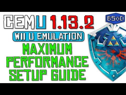 Cemu 1.13.2 | The Complete Guide to Wii U Emulation & Maximum Performance