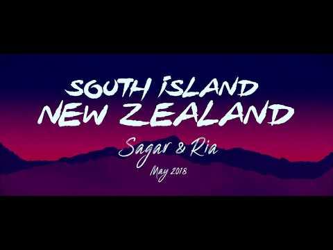South Island New Zealand Road Trip 4k
