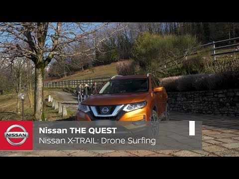 Nissan THE QUEST X-OVER SPORTS â?? Drone Surfing
