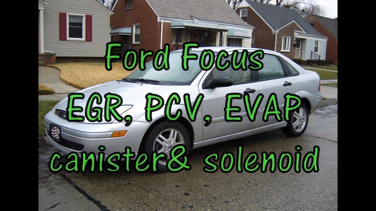 Ford Focus Emissions Pcv Valve Egr Evap Canister Vent Engine Diagram Zetece 1820 L 16v Solenoid