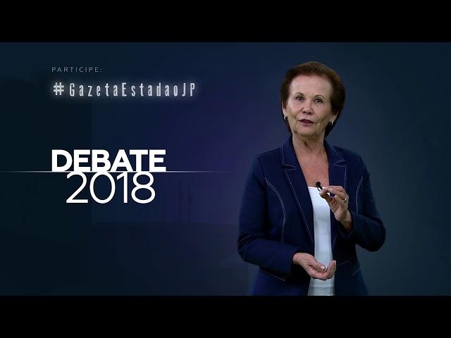 Chamada Debate - 16/09/2018 - Governador de SP  - TV Gazeta