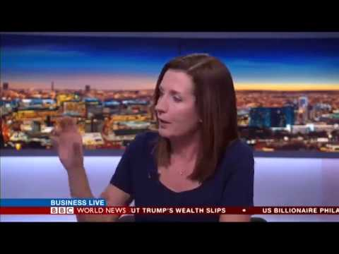 Pip Wilson, Founder of amicable apps on BBC World Business Live