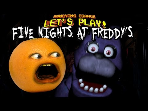 Annoying Orange in Video Games!