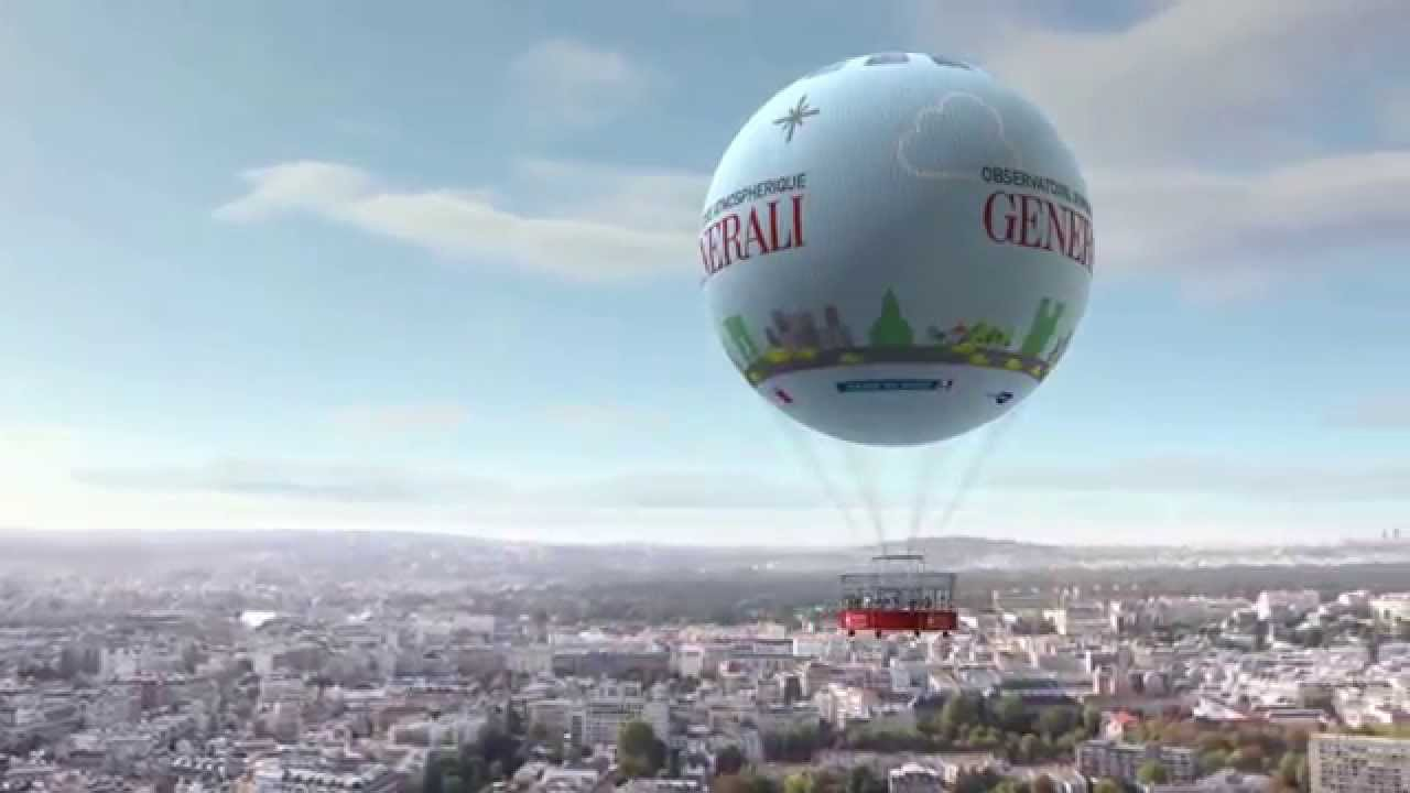 ballon dirigeable generali