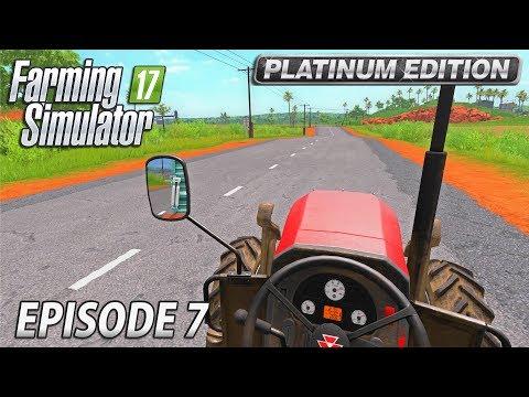 FINISHING THE SUGARCANE| Farming Simulator 17 Platinum Edition | Estancia Lapacho - Episode 7