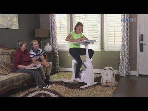 Standing desks are so 2017 — the Deskcise Pro is a biking desk