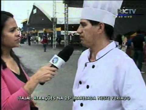 RICTV Record vai até no Centreventos de Itajaí onde acontece a Marejada