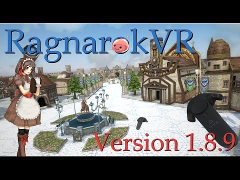 RO x VR: World of RO in Virtual Reality - RagnaroKVR Ver 1.8.9 (한국어/English/中文/日本语 description)