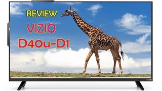 ►►VIZIO D40u-D1 40 inch 4k Ultra HD Smart LED TV 2016 Model Review
