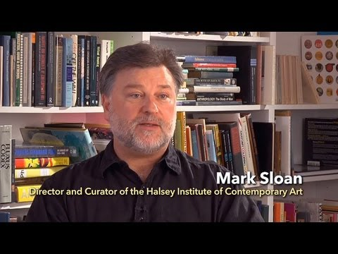 Mark Sloan -- Director of the Halsey Institute of Contemporary Art -- College of Charleston