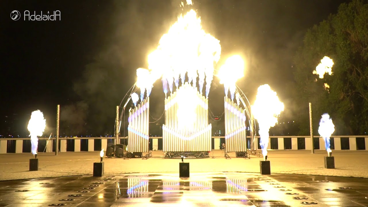 World biggest Flamethrower Fire Organ made by one person
