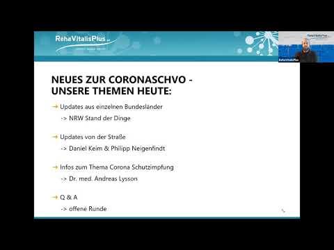 Updates zur CoronaVO 01.02.2021
