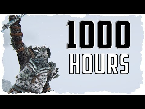 What 1000 HOURS of Lawbringer EXPERIENCE Looks Like - For Honor