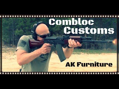 Combloc Customs AK Stocks & AK-47 Furniture Finishing Service Review (HD)