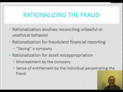 Chapter 2 Lecture 1 Fraud and implications for the auditor