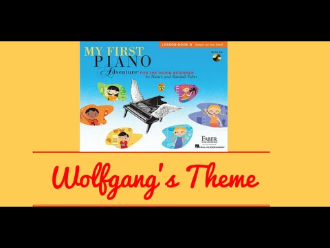 Piano Online:Wolfgang's Theme with duet - My First Piano Adventures Book 2 - Piano Tutorials