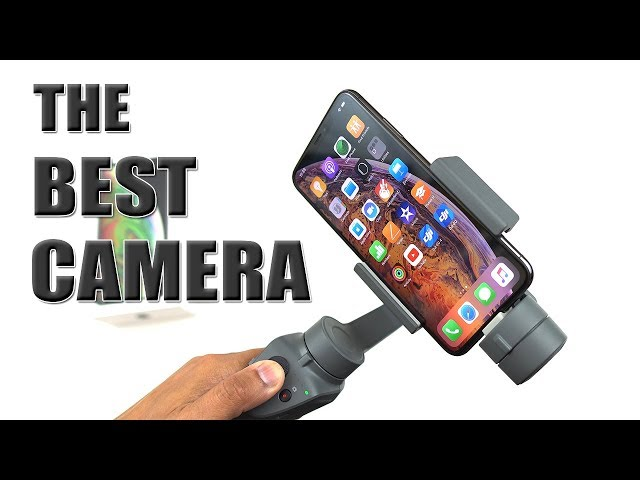 iPhone Xs Max Camera Test with DJI OSMO Mobile 2 (BEST CAMERA IVE EVER TESTED) [4K] 60fps