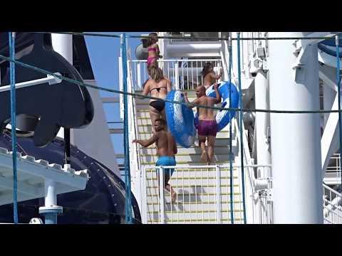 MSC Meraviglia Polar Aqua Park - Water Slides Meraviglia/ MSC Bellissima Cruise Ship