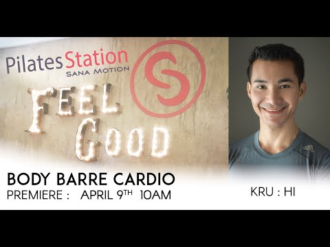 Body Barre with Kru Hi from Bangkok | Thai Language | Premiere : 9 April 2020 | 10am