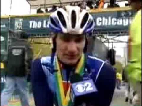 Josh George - Chicago Marathon - Post-Race Interview - October 2006