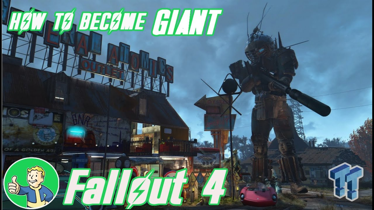 How to become a giant or shrink yourself in fallout 4 youtube how to become a giant or shrink yourself in fallout 4 solutioingenieria Image collections