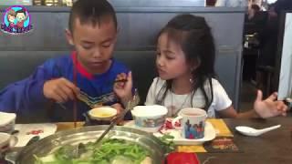 กิน MK ที่โลตัส พิมาย ฉลองวันเด็ก | น้องใยไหม kids snook