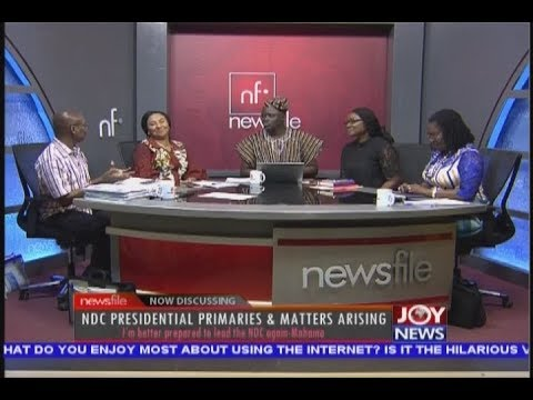 NDC Presidential Primaries & Matters Arising - Newsfile on JoyNews (22-12-18)