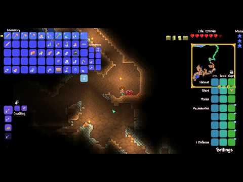Terraria Let's Play!! Episode 8 - MAJOR Mining Trip!! Part 5 - Calvin and Mercer