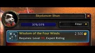 Wisdom of the Four Winds Guide (Level 90 Flying)