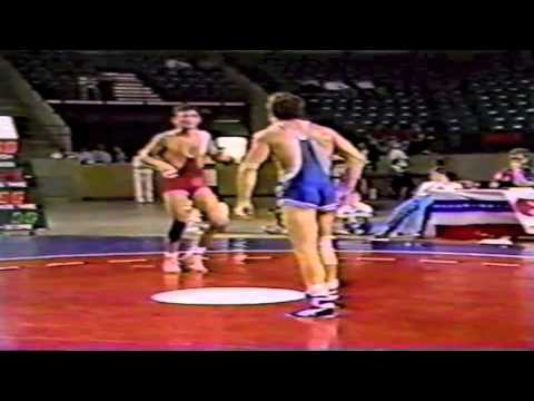 1988 US Olympic Trials Qualifier: 62 kg John Smith vs. Randy Lewis Match 1