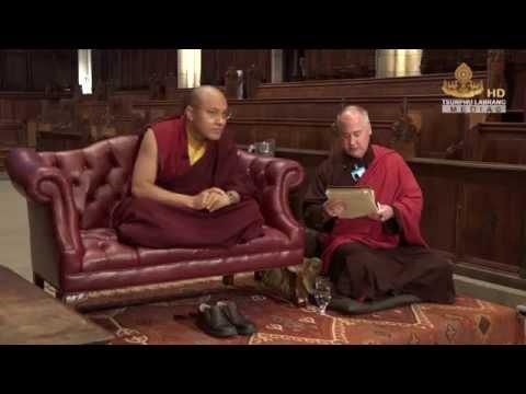 Karmapa talks at  Princeton University