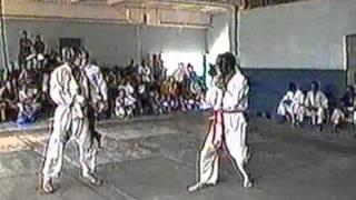 Primera pelea de Yosvany Reyes