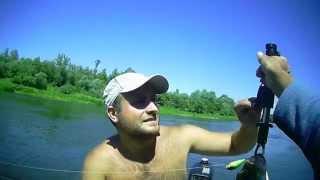 Рыбалка на Суре сплавом