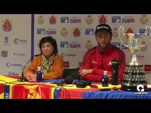 Rueda de prensa Jon Rahm en el Open de España