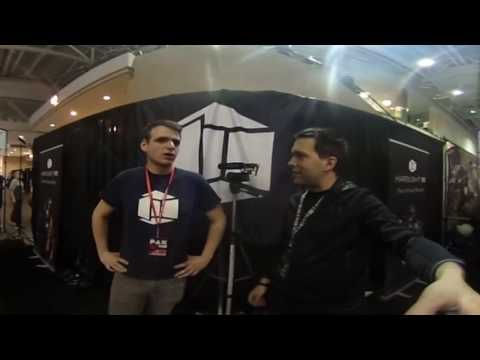 Hardlight VR Suit - Interview at PAX East 2017