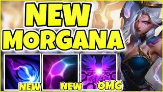 NEW DAWNBRINGER MORGANA IS 100% THE BEST SKIN IN THE GAME! DAWNBRINGER MORGANA FULL GAMEPLAY